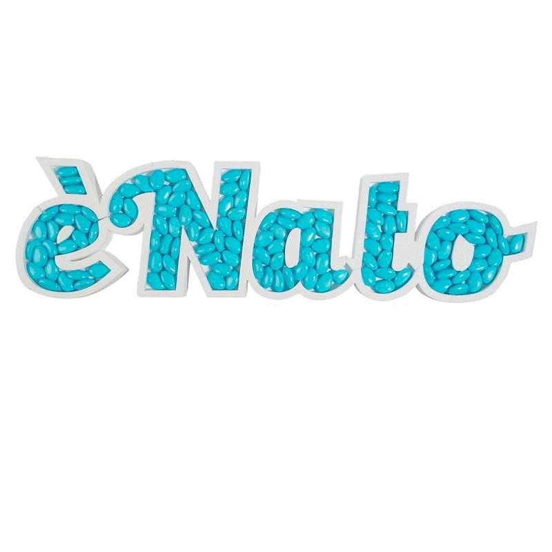SCRITTA È NATO IN...