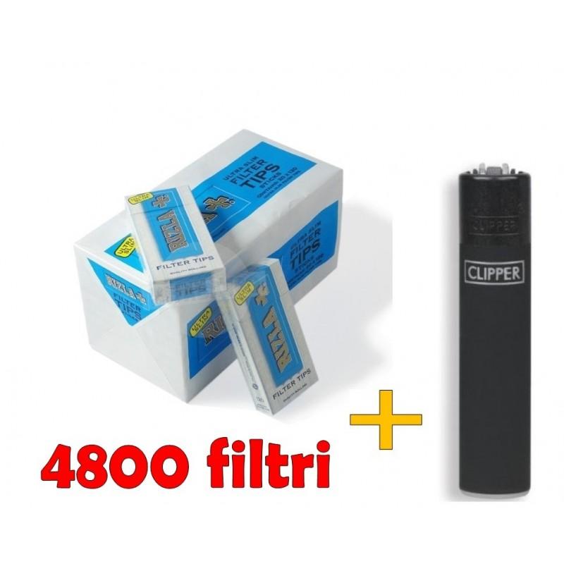 4800 FILTRI RIZLA ULTRA SLIM + ACCENDINO