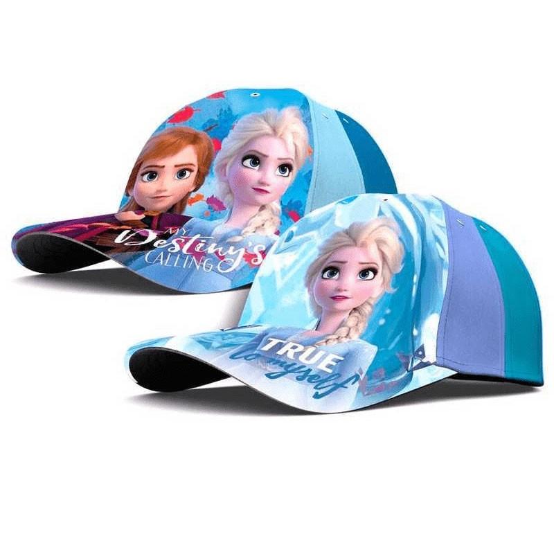 cappellino con visiera bambine frozen assortiti - WD21035