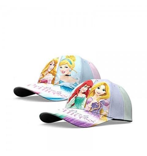 cappellino con visiera bambine principesse disney - WD20246
