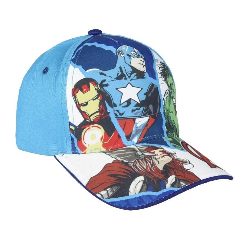 cappellino con visiera bambini avengers -2200003556