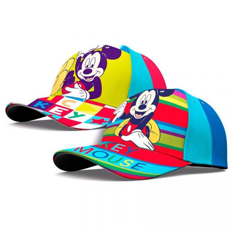 cappellino con visiera topolino assortiti - WD21033