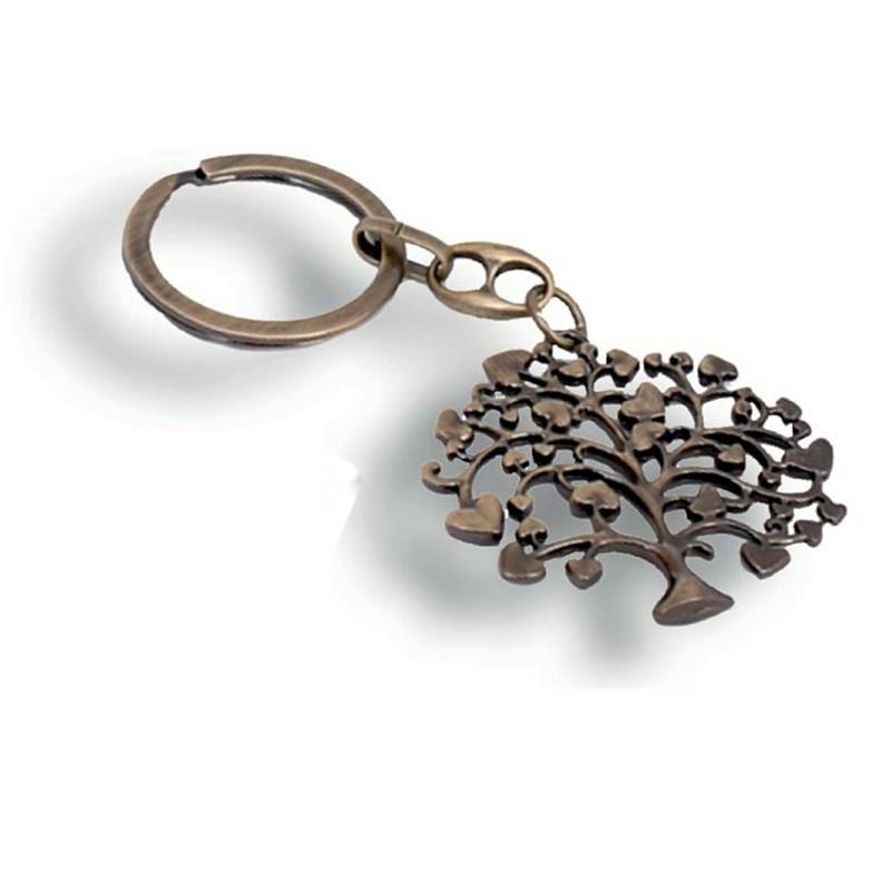 Portachiavi Albero della Vita Bronze AT17231-PB