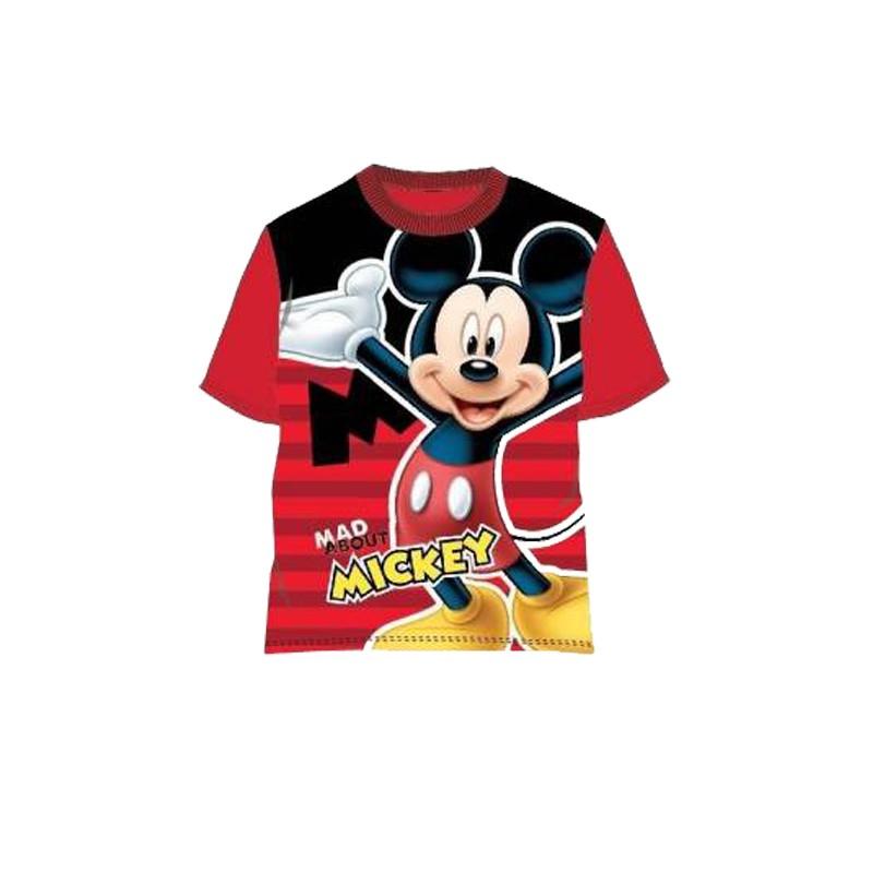 T-Shirt Topolino Per Bambino Rosso tg 3 Anni - 98 cm MIC2022-0757