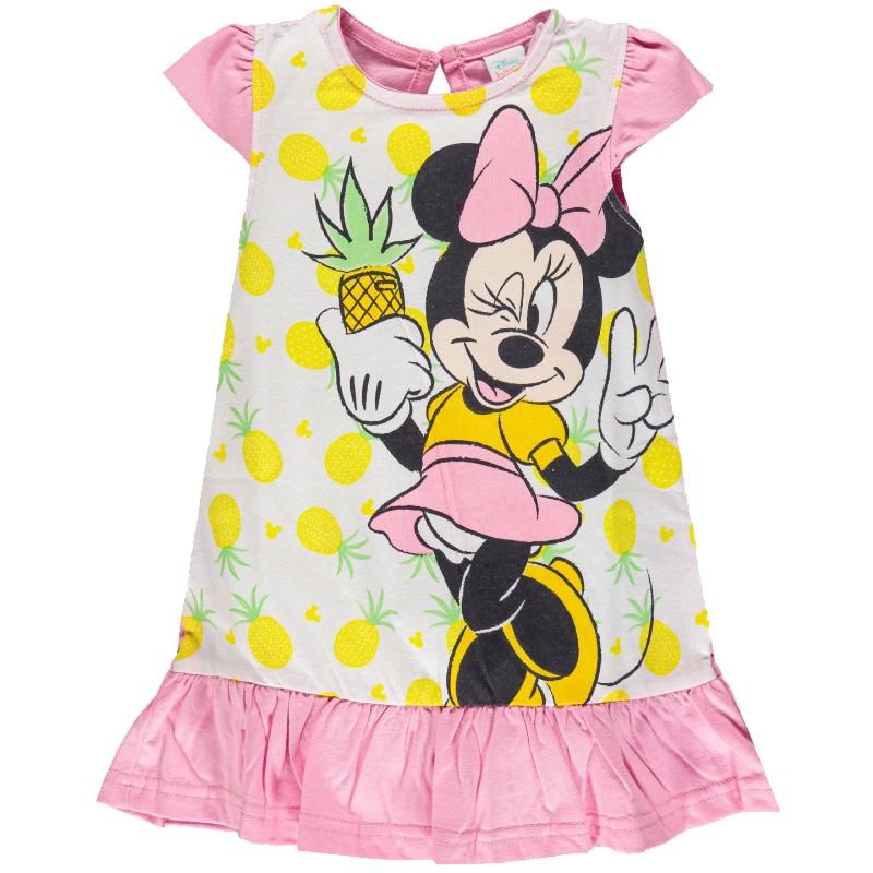 Abito Minnie per neonata in jersey Rosa WA8501 3 Anni