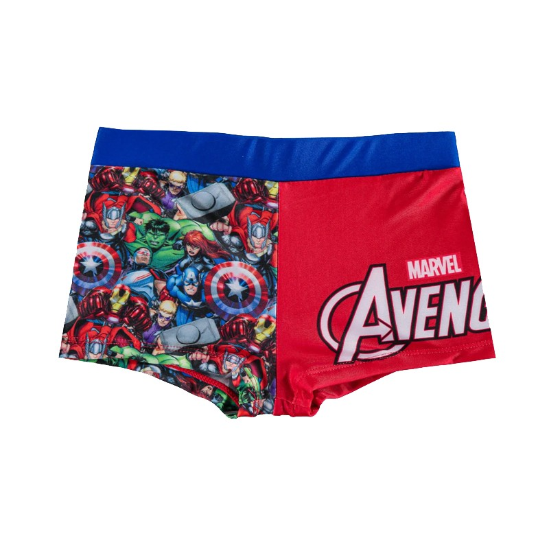 Costume Avengers Boxer bambino Rosso WZ9003 5 anni