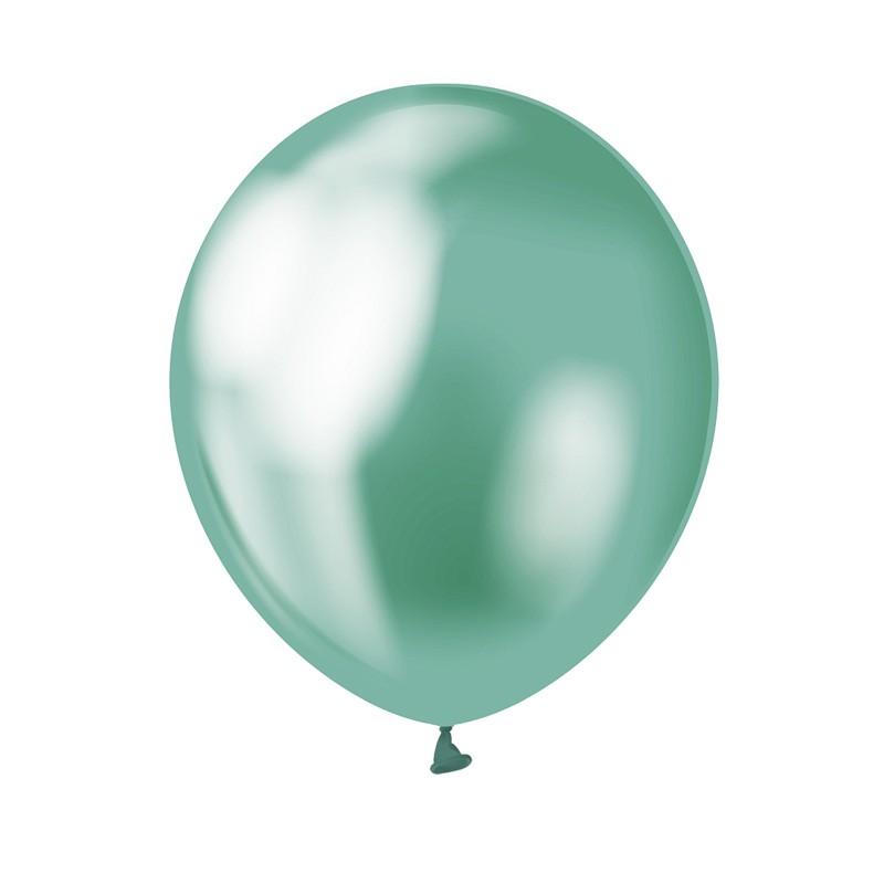 Palloncini Metallizzati Verde Beauty & Charme 12-30cm 7pz  CB-7LZI
