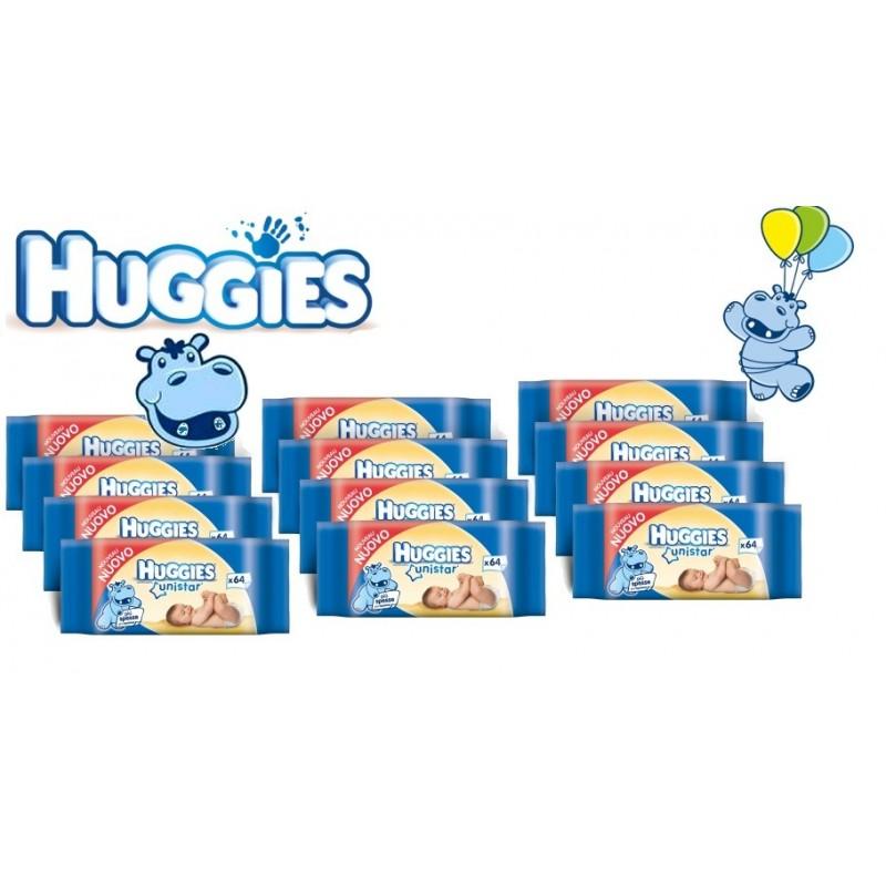 640 HUGGIES SALVIETTINE DETERGENTI UNISTAR 10 conf.