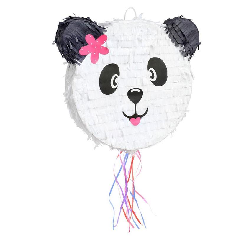 Pignatta a forma di testa di panda 42 cm - WM-PPAN