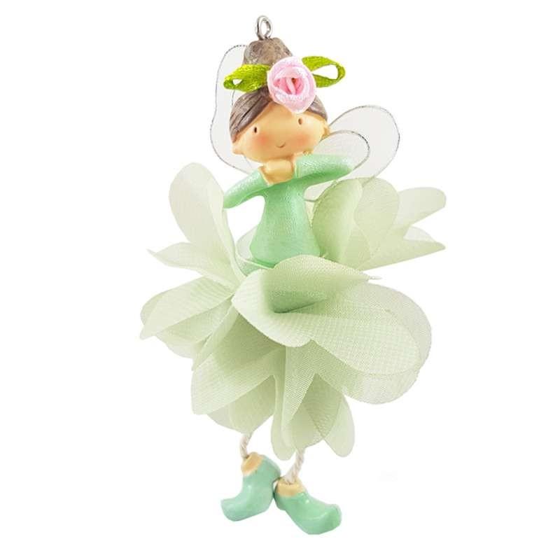 Fatina ballerina verde bomboniera