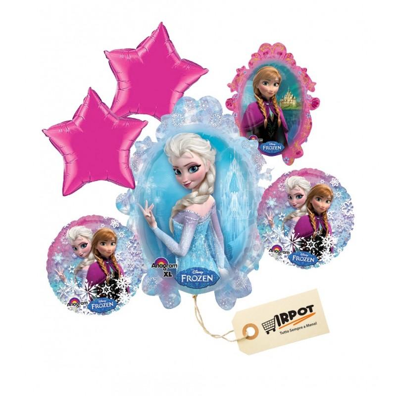 Bouquet di palloncini Frozen