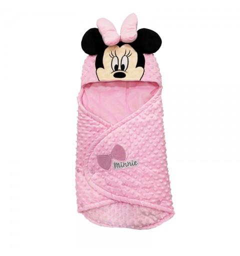 Baby Sac - Sacco Nanna Minnie Mouse 0-12 Mesi Rosa  XU0318XD