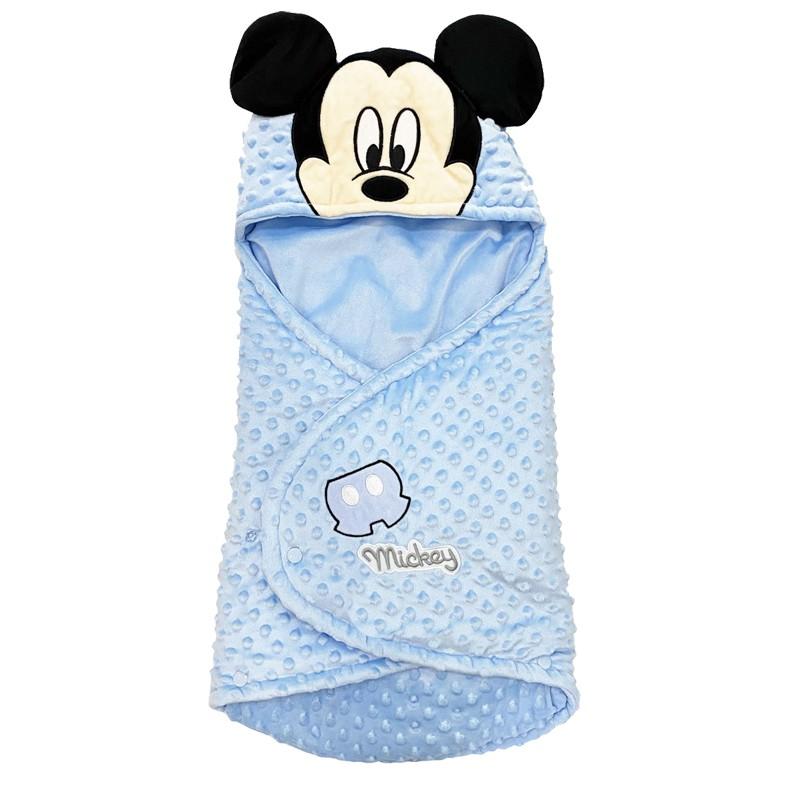 Baby Sac - Sacco Nanna Topolino Mickey Mouse 0-12 Mesi Azzurro XU0218XD