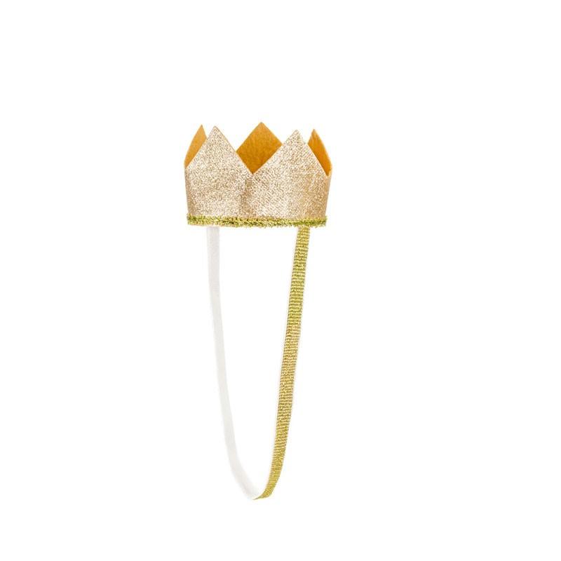 corona per bambini colore oro diametro 8.5 cm ca. STD1-019