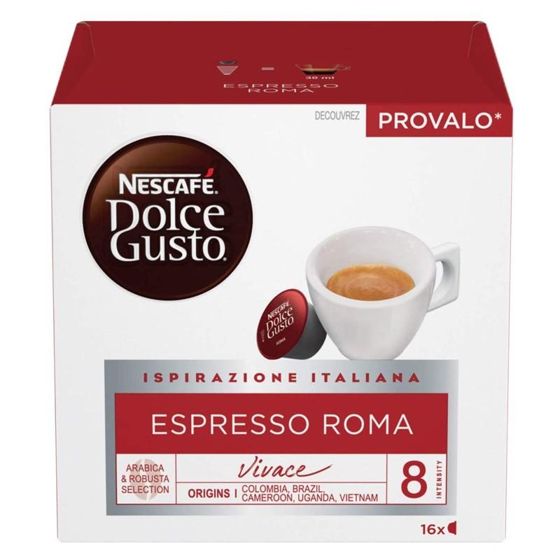 Caffè Nescafè Dolce Gusto Espresso Roma 1 box da 16 capsule
