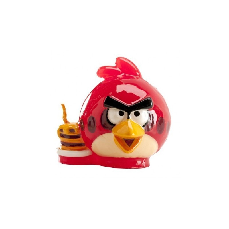 346092 CANDELINA IN CERA ANGRY BIRDS