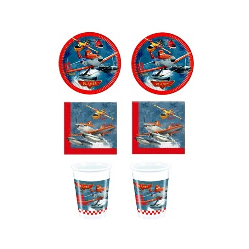 KIT N2 COMPLEANNO BAMBINO DISNEY PLANES