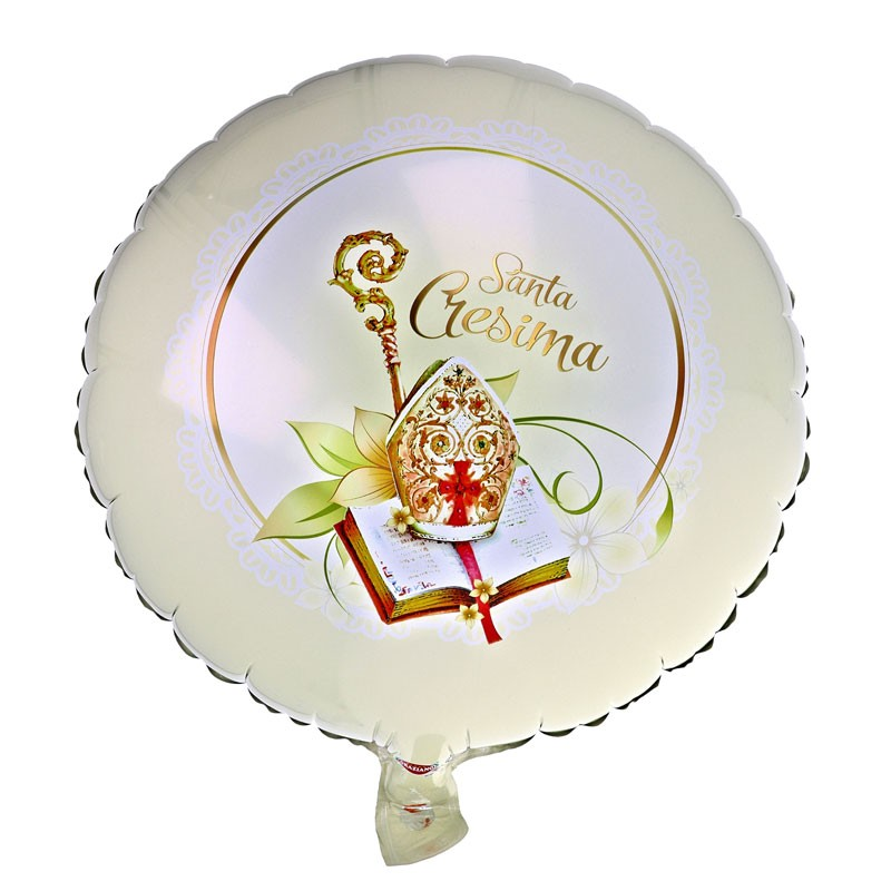 foil tondo santa cresima 45 cm 50467