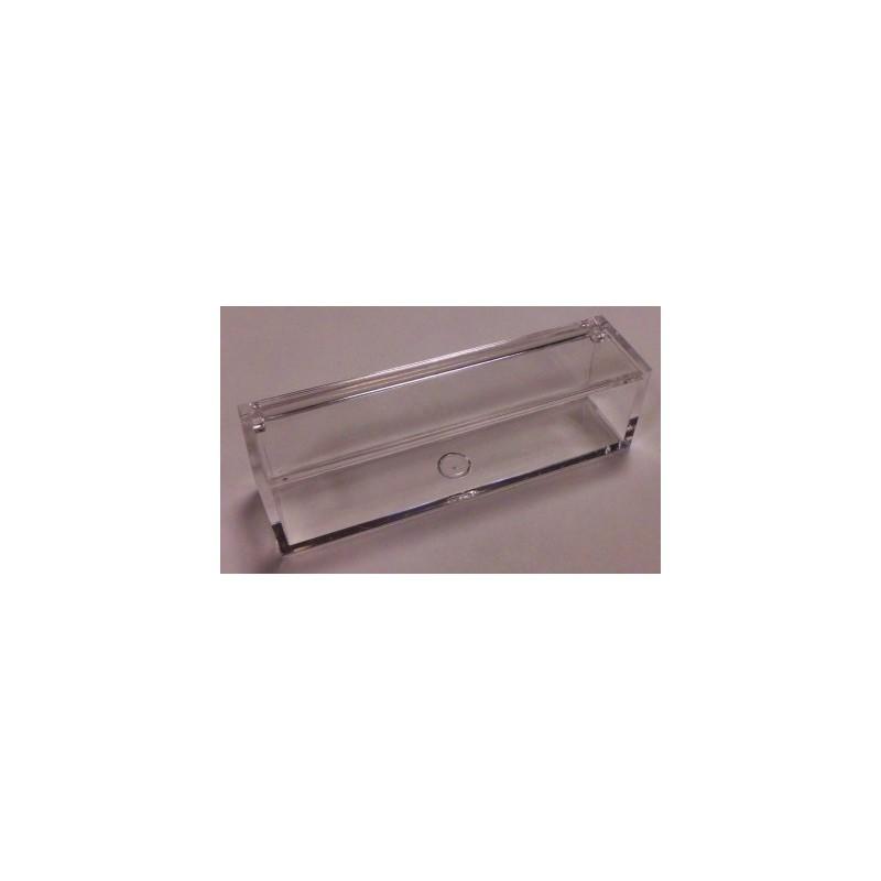 10 X SCATOLINA PORTACONFETTI IN PLEXIGLASS TRASPARENTE RETTANGOLARE SC514