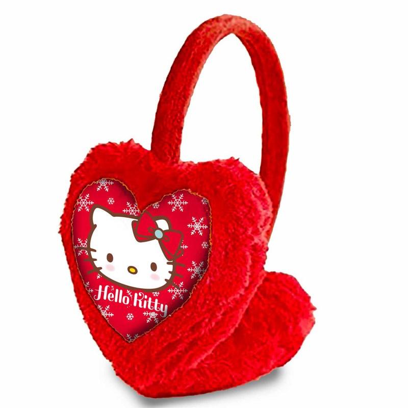 CARTOON WORLD Paraorecchie Scalda Orecchie Hello Kitty Nero