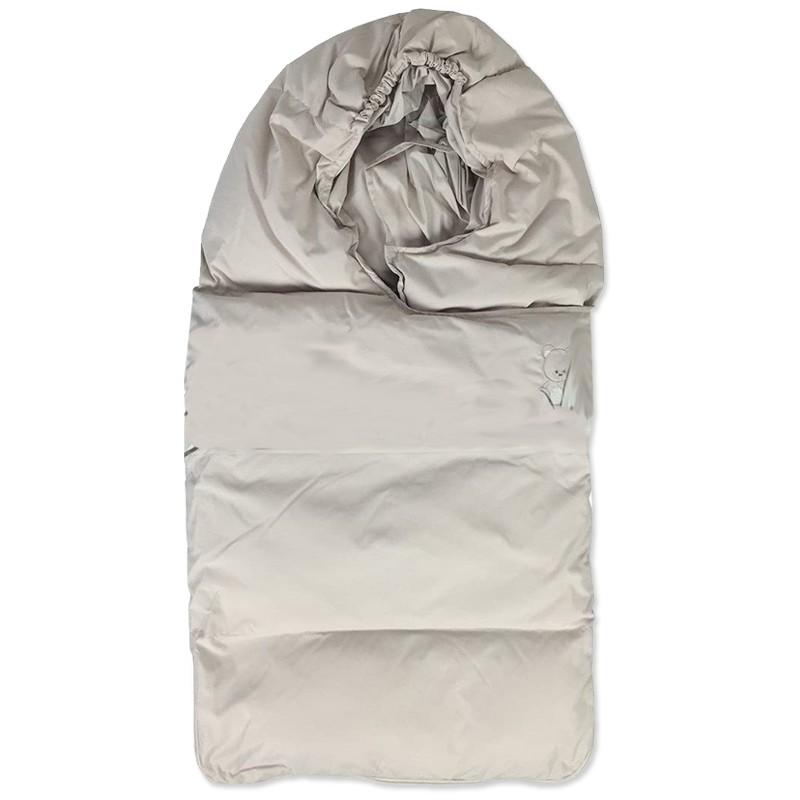 Sacco nanna neonato termico per ovetto beige BM5542