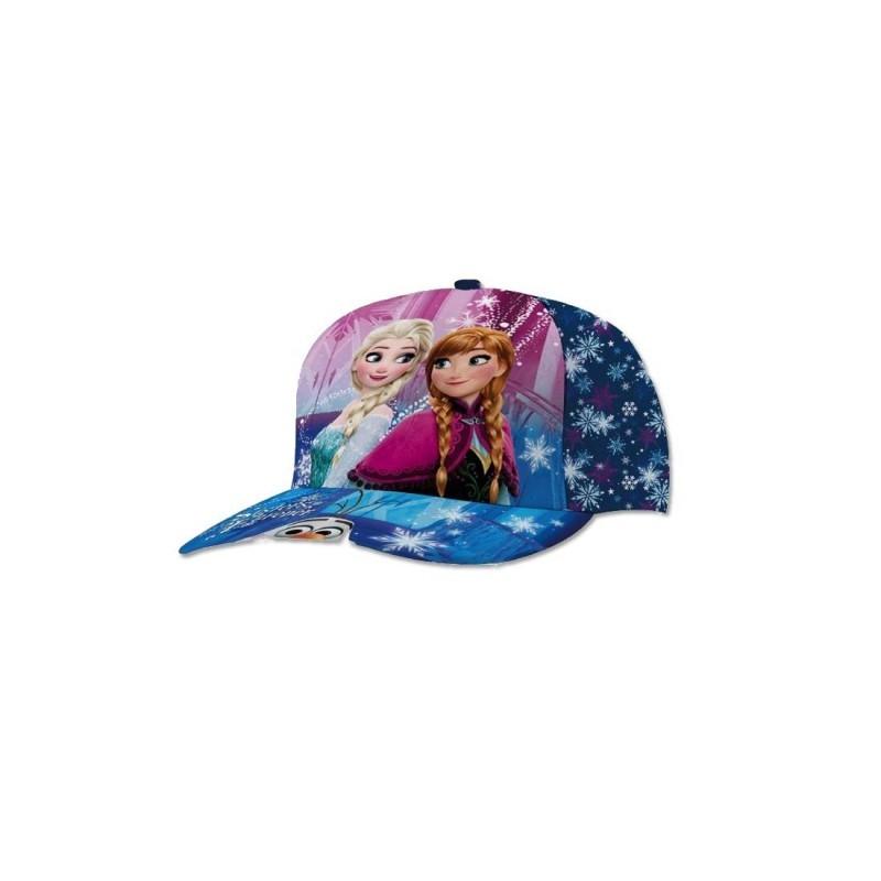 Cappellino Con Visiera Disney Frozen Blu 45361