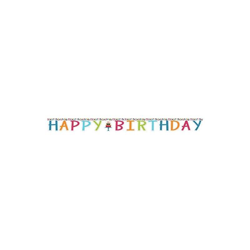 Ghirlanda Happy Birthday Torta Pois Cake Stand 291878