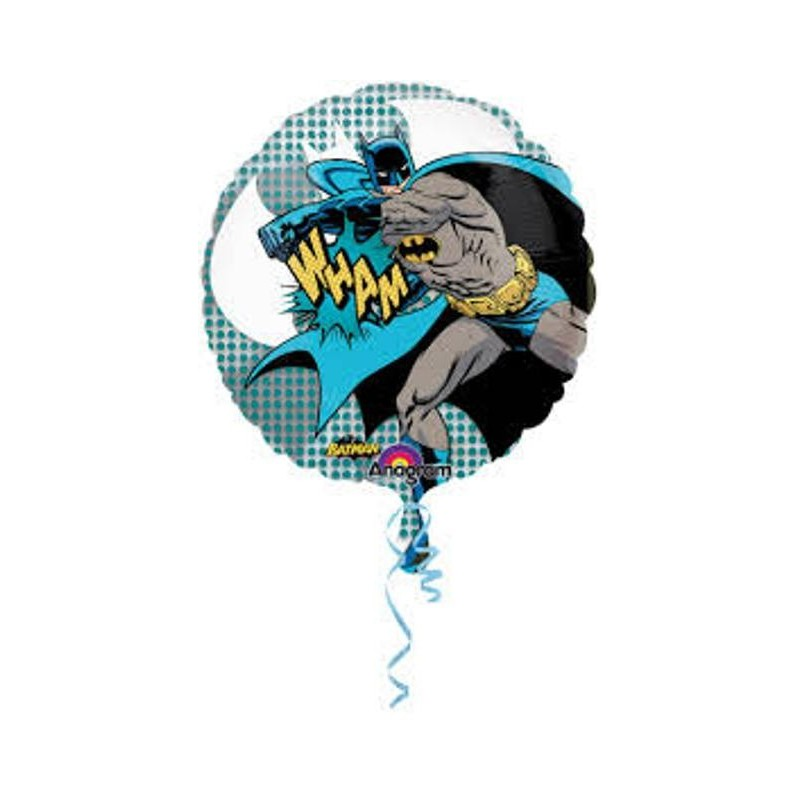 26224 SUPERSHAPE BALLON PALLONCINO FOIL BATMAN