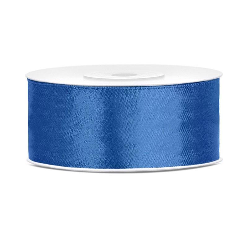 Nastro Doppio Raso blu royal 2,5 cm x 25 TS25-074R