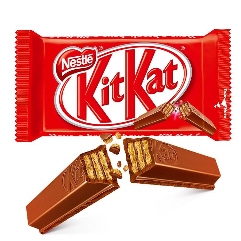 KitKat Original Wafer Ricoperto di Cioccolato al Latte 41,5 g 1 pz.
