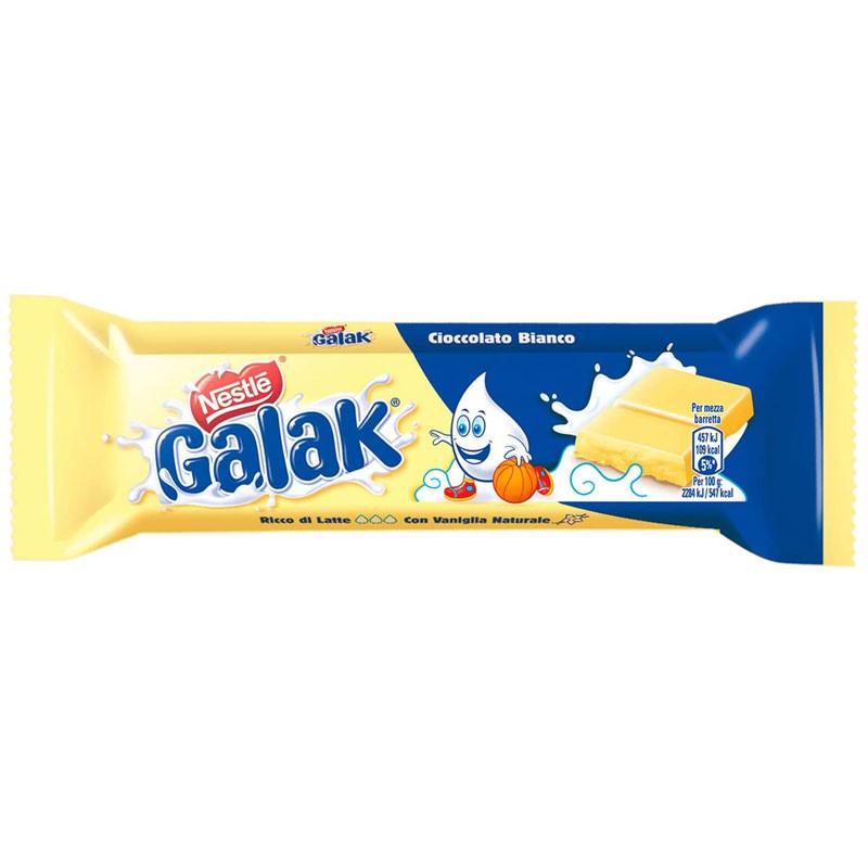 Nestlé Galak Barretta di Cioccolato Bianco 40g 1 pz.