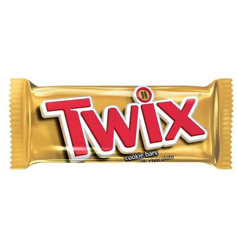 Twix barretta al cioccolato con wafer e caramello da 50g 1 PZ.