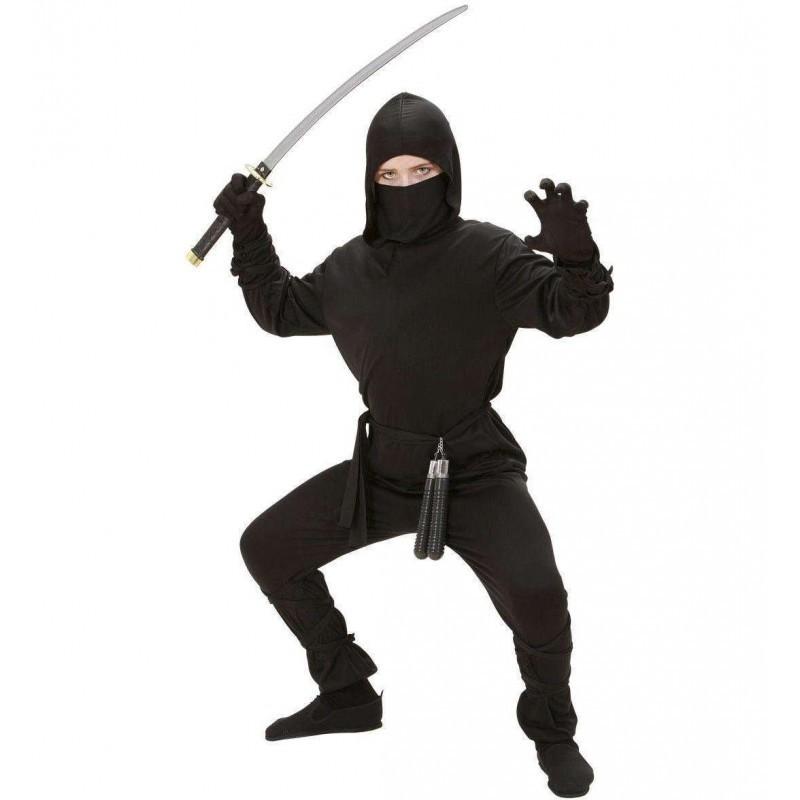Vestito Ninja 8 - 10 anni 140 cm - 02647