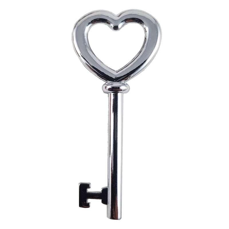 Ciondolo chiave cuore - 10 pz