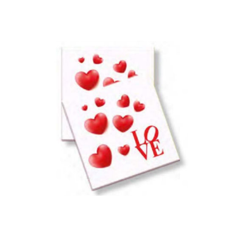 TOVAGLIOLI LOVE CUORI ROSSI...