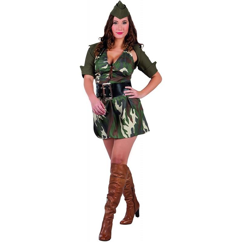 COSTUME MIMETICO ARMY DONNA...