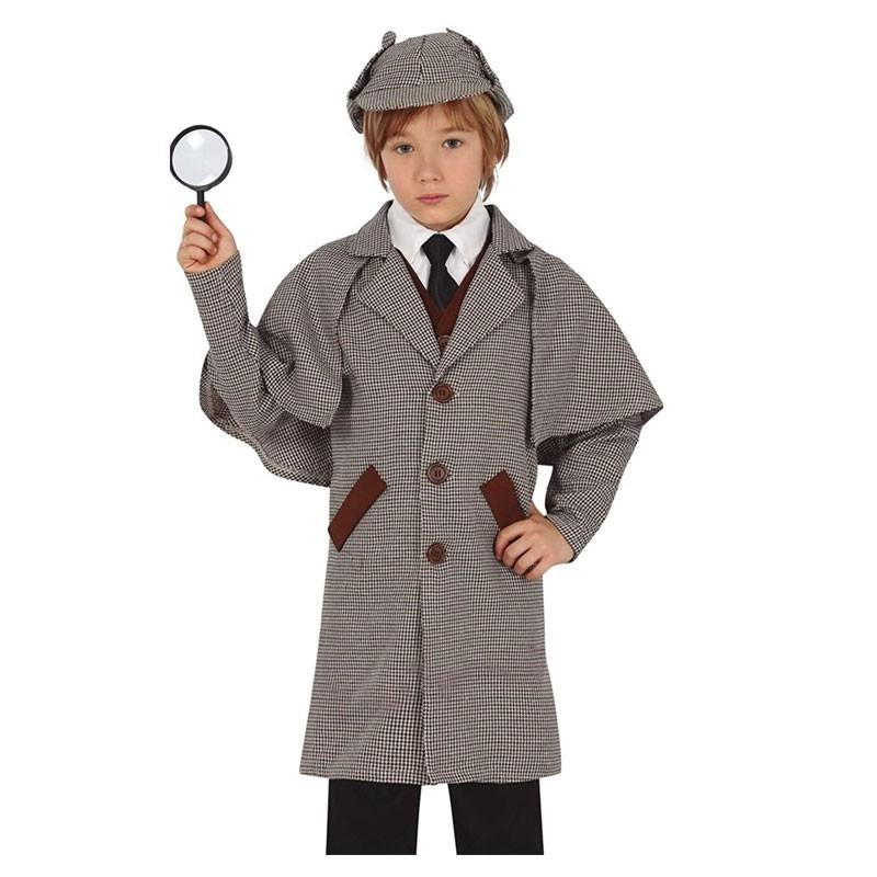 Costume da detective 7-9  anni 77306