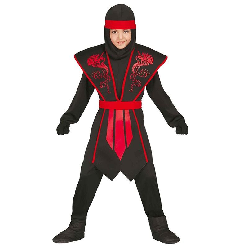 Costume da ninja per bambini di 7-9 anni 81252