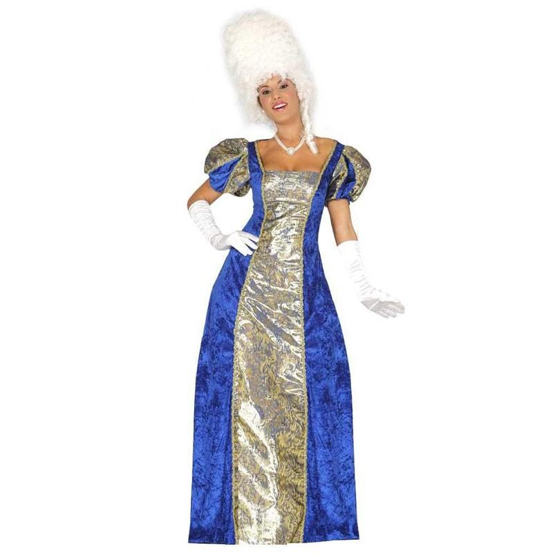 Costume marchesa contessa nobile veneziana blu taglia L 84330