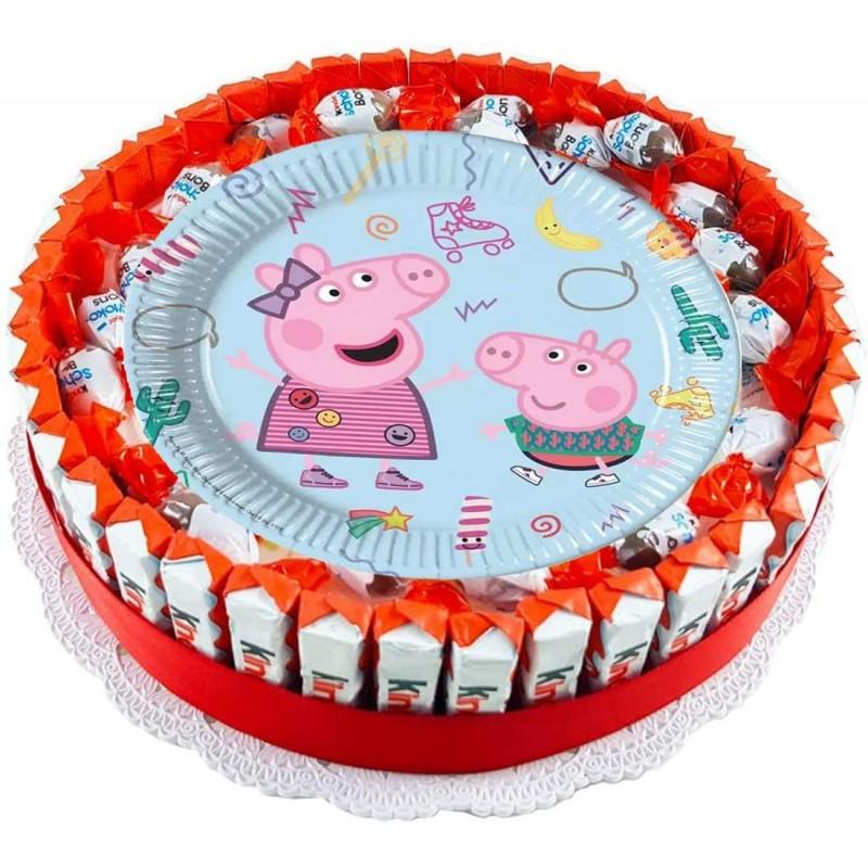 TORTA KINDER PEPPA PIG FAI...