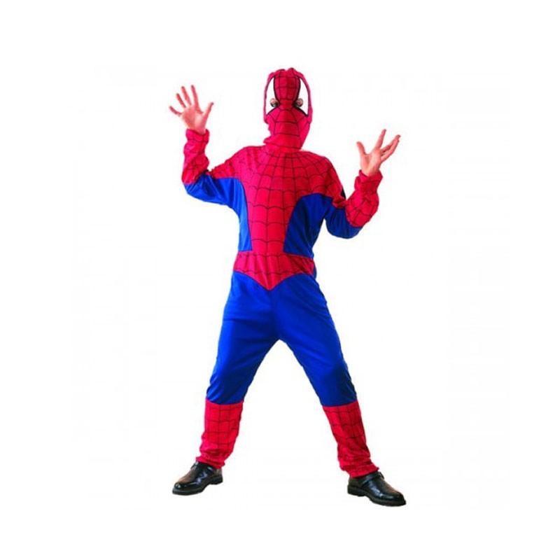 Costume da bambino per carnevale Spiderman super eroe 130/140 cm SL-ZW13