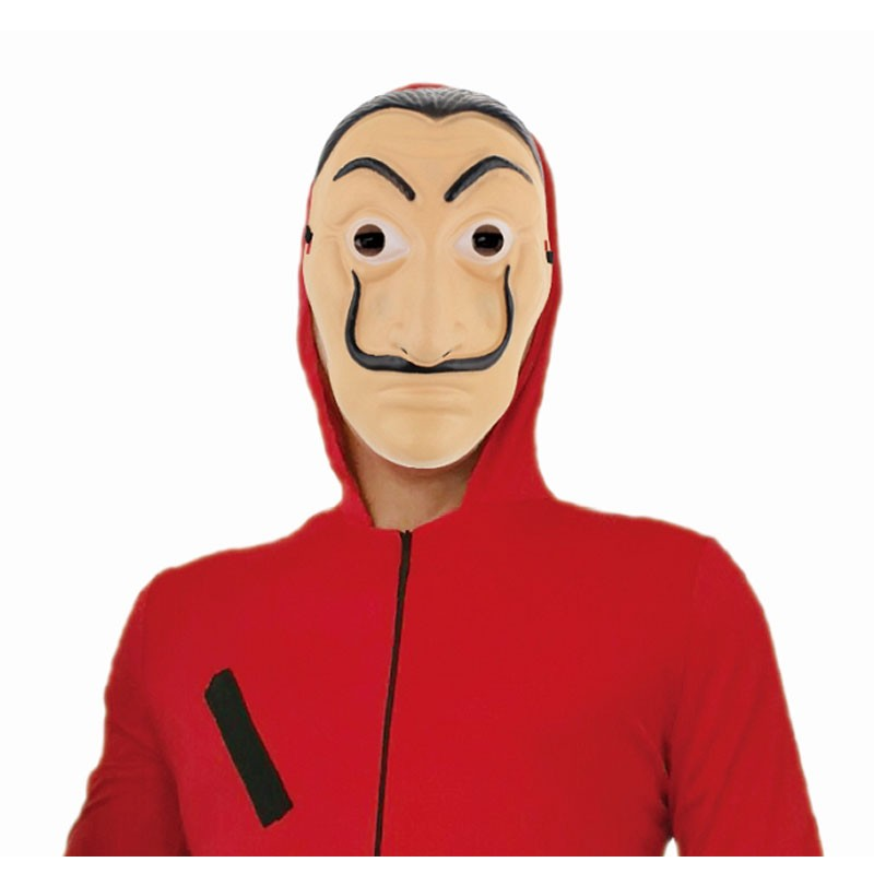 Maschera di carnevale Salvador Dalì la casa di carta MASA-YH per adulti