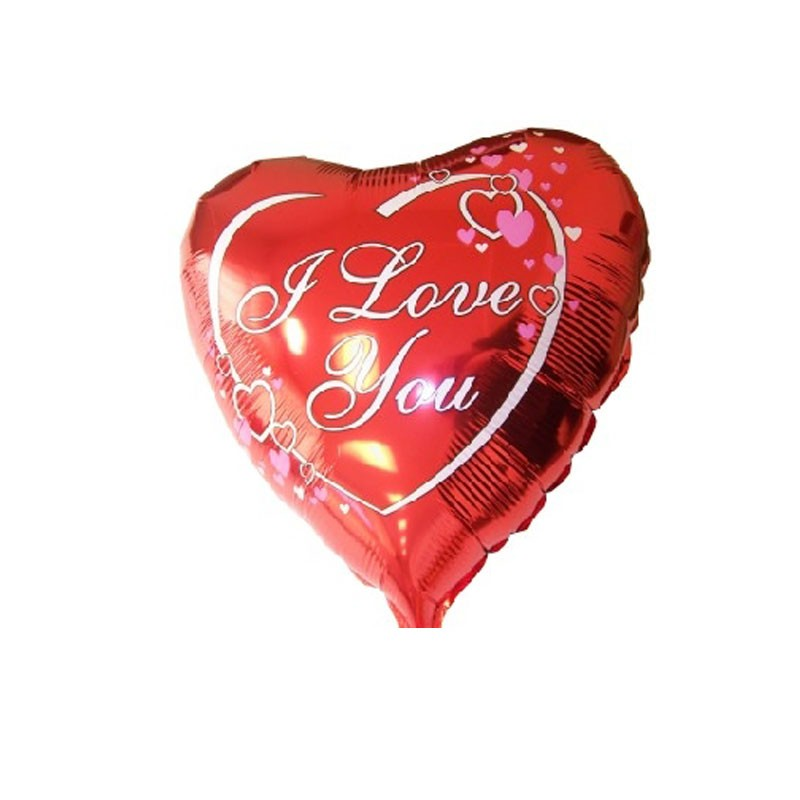 Palloncino foil I love you 45 cm 18\'\' 201570