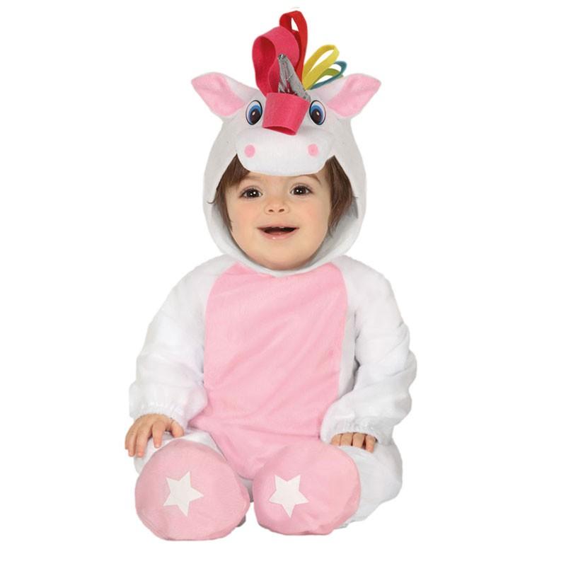 costume carnevale bambina unicorno 12-24 mesi 88382