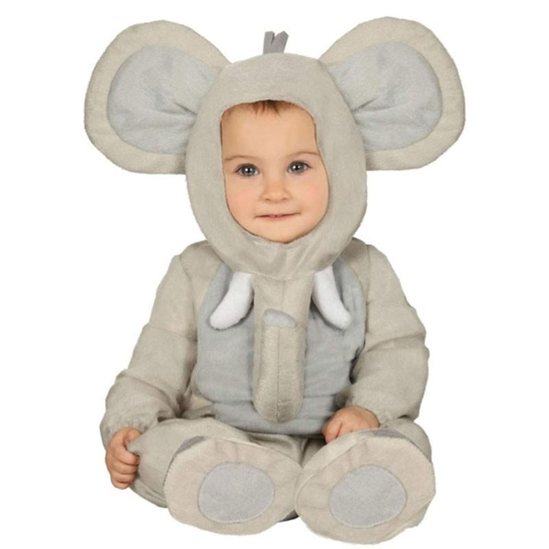 costume carnevale per neonati Elefantino Dumbo 6 - 12 mesi 88395