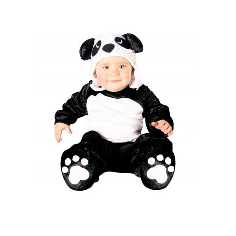 Costume neonato da panda 6-12 mesi 82626
