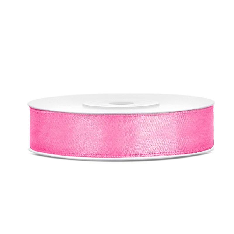 Nastrino in raso rosa 1 cm x 25 mt TS12-081