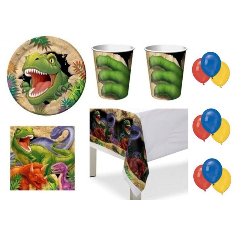 Kit N4 Per Feste Bambini Tema Dinosauri Irpot