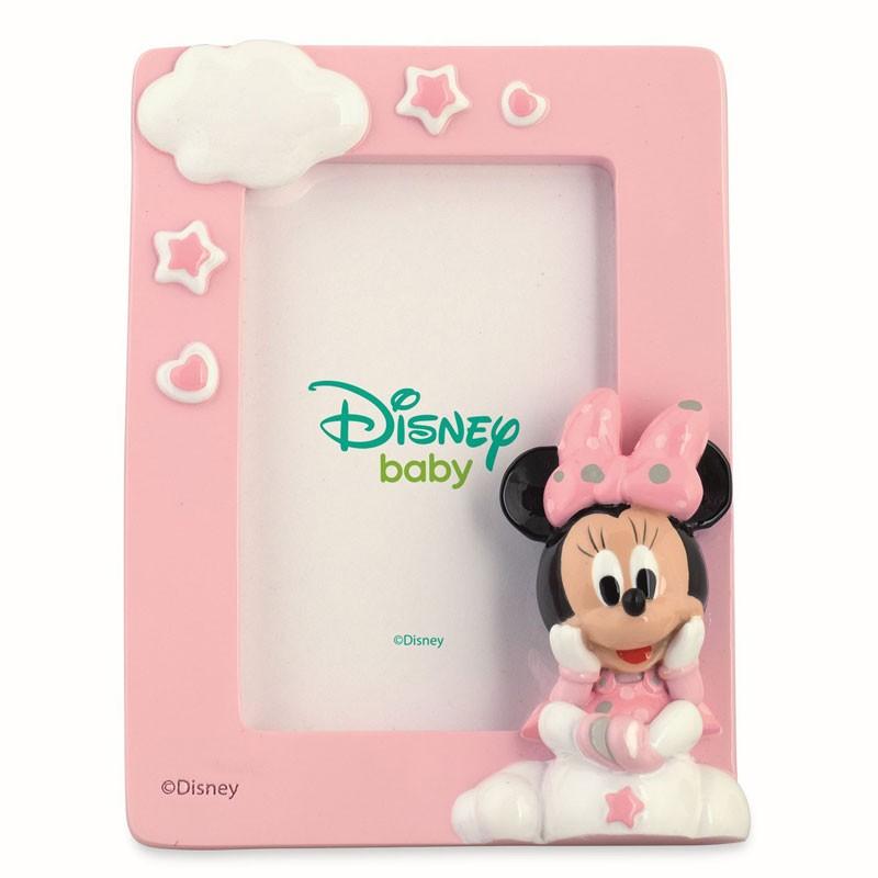 Cornice portafoto in Resina con Scatola shopper Disney Minnie 69510 9 x 12 cm