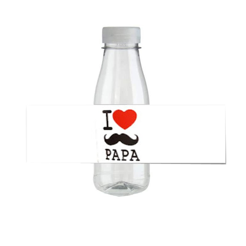 FASCETTA ADESIVA I LOVE PAPÀ